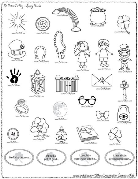 st patricks day worksheets coloring pages for saint patricks day - Fun Worksheets For Kids