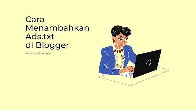 menambahkan ads.txt di blogger
