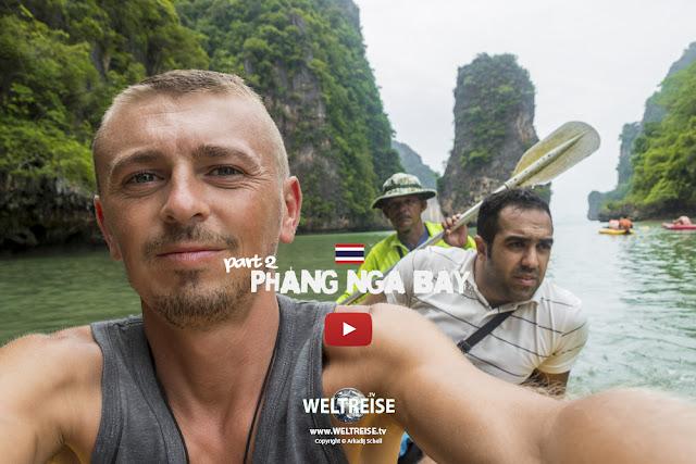 Ko Hong Island & Ko Naka Yai | Phan Nga Bay | Thailand | TEIL 2 | www.WELTREISE.tv # 209