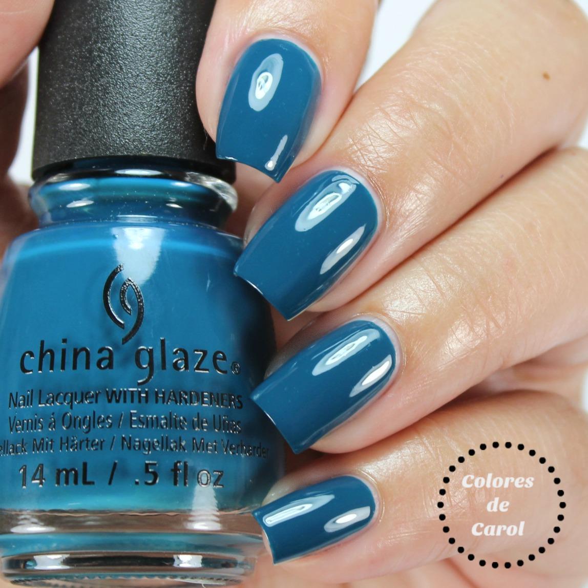 Colores de Carol: China Glaze Rebel Collection, Fall 2016