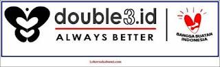 Lowongan kerja Double3.id Sukabumi Terbaru 2021