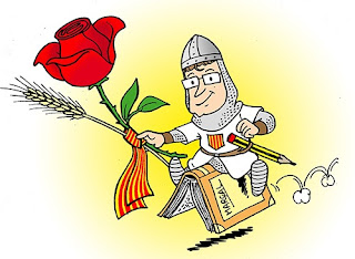 ¡Feliz día de Sant Jordi! ¡Feliz lectura!