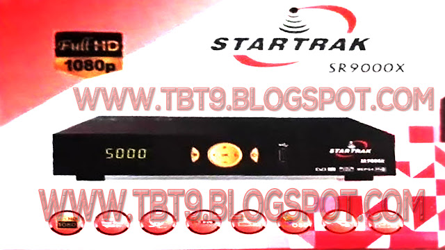 STAR TRACK  HD RECEIVER SR-9000X  WITH VLINE OPTION & POWERVU KEY TEN SPORTS OK NEW SOFTWARE JULY 19 2019