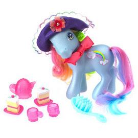 My Little Pony Rainbow Dash Pretty Pony Fashions Tea Party Fun G3 Pony