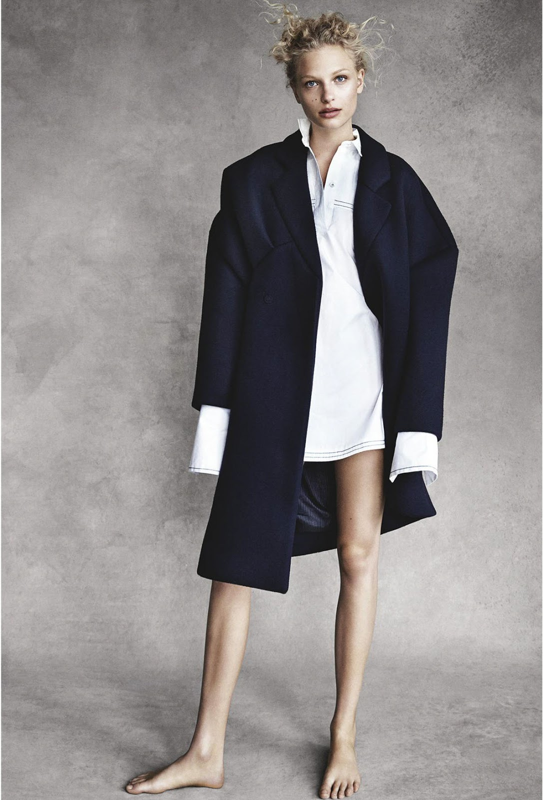 Frederikke Sofie In Vogue Australia October 2016 By