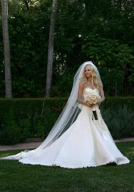Red Carpet Dresses Avril Lavigne Avril Lavigne S Wedding 2006