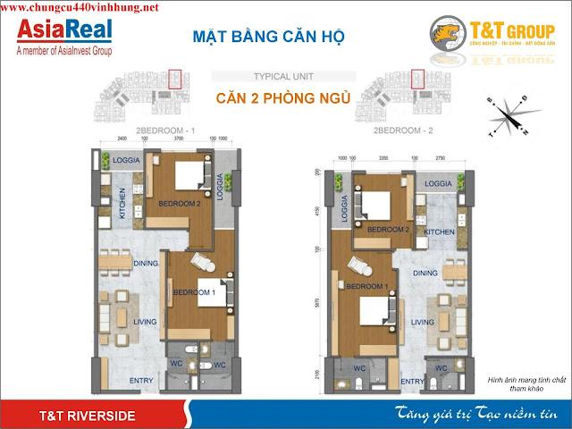 thiết kế căn hộ dự án 440 vĩnh hưng
