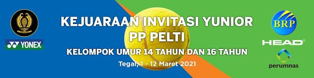 Pembagian Pool Kategori Putri Kejuaraan Invitasi Tenis Yunior PP PELTI di Tegal, Jawa Tengah