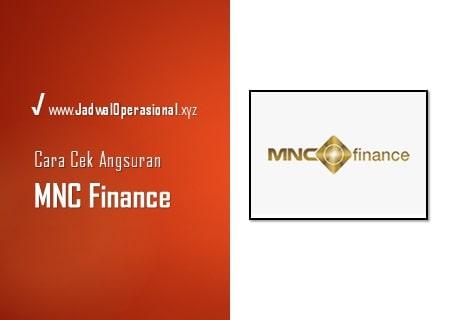 Cek Angsuran MNC Finance