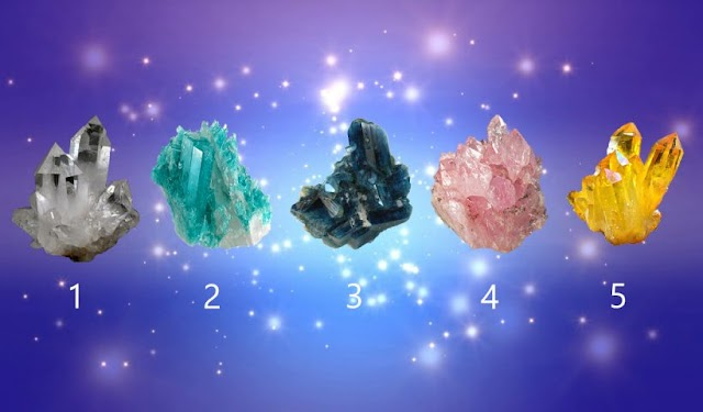 Choose a Rock Crystal To Receive a Oracle Message