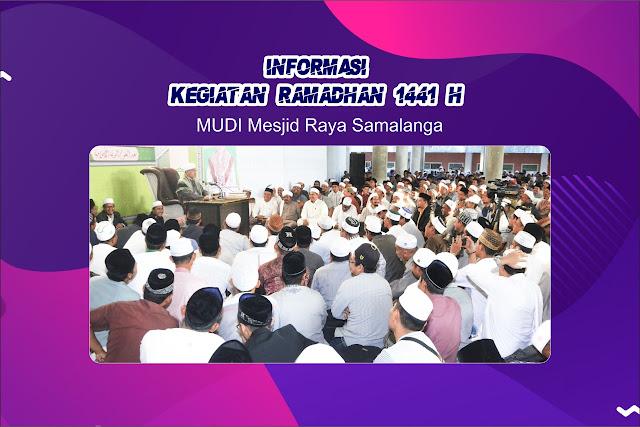 Dayah MUDI Keluarkan Maklumat Terkait Kegiatan Ramadhan 1441 H Masa Pandemi Covid-19