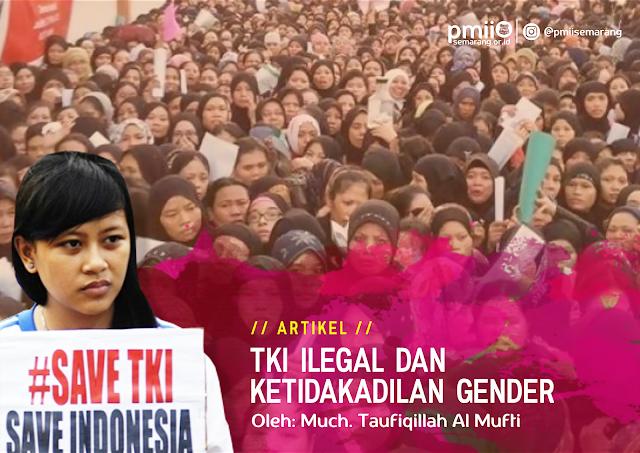 artikel TKI Ilegal dan Ketidakadilan Gender oleh PC PMII Surabaya