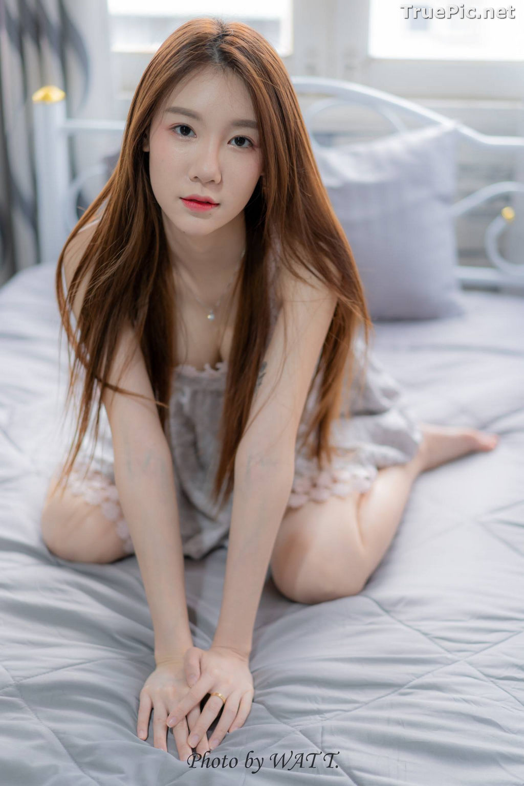Image Thailand Cute Model - Carolis Mok - Morning Cutie Girl - TruePic.net - Picture-4