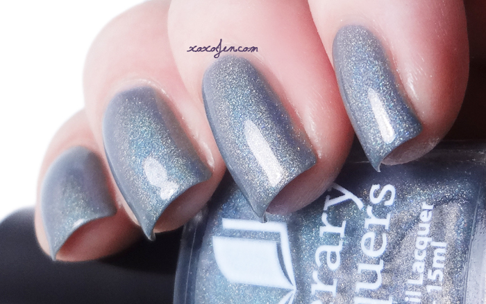 xoxoJen's swatch of Literary Lacquers Attic Mice