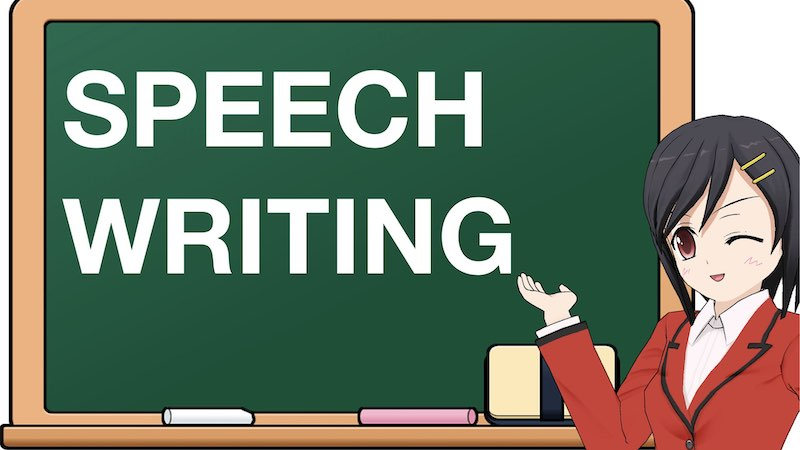 SCHOOL SECTION SPEECH WRITING