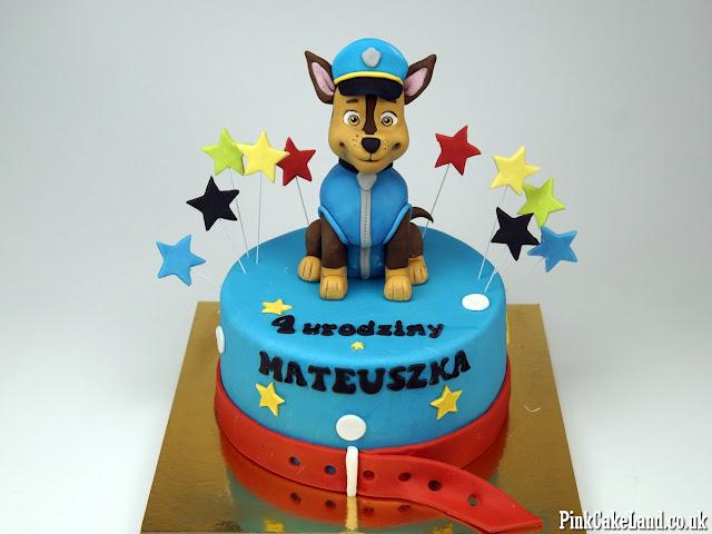 paw patrol cakes london