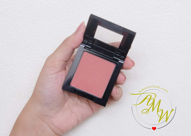 a photo of Maybelline Fit Me Blush review in WINE by Nikki tiu of www.askmewhats.com