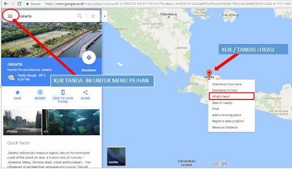 Cara memasang googlemaps di postingan blog