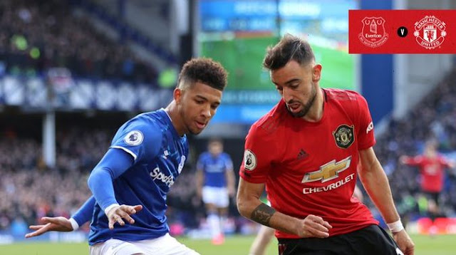 Everton vs Manchester United 1-1 Highlights