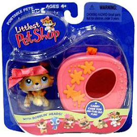 Littlest Pet Shop Portable Pets Collie (#58) Pet