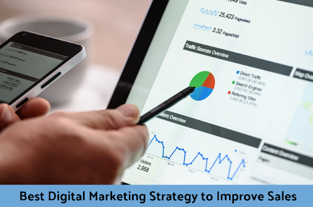 Best Digital Marketing Strategy to Improve Sales