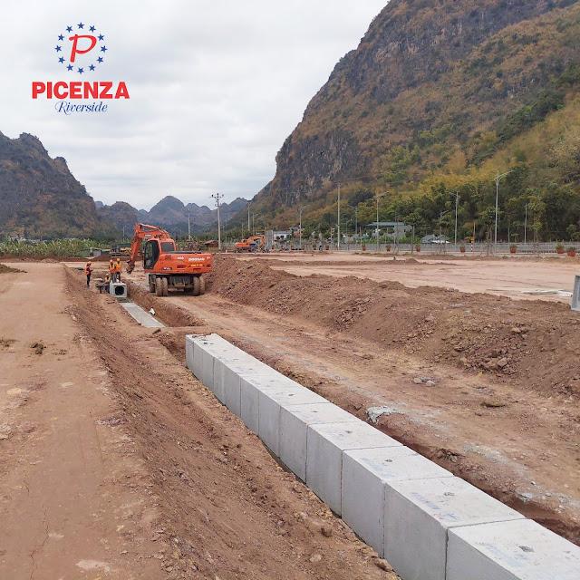 Tiến độ tháng 3 dự án Picenza Riverside Sơn  La - mở bán biệt thự liền kề shophouse