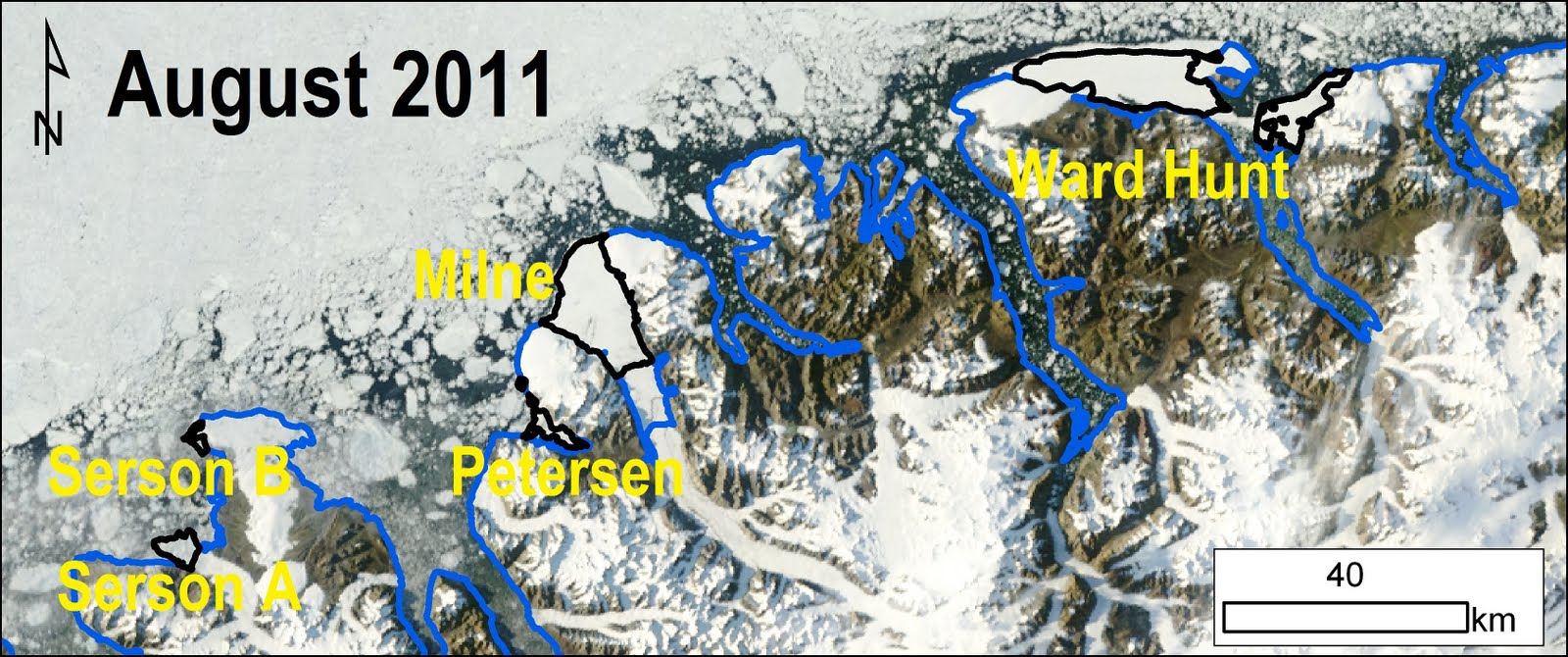Ellesmere Island Ice Shelves 20111