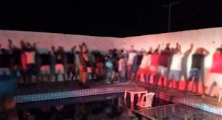 Polícia Militar encerra festa com cerca de 100 pessoas na Chapada Diamantina