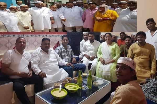 lakhan-kumar-singla-celebrate-eid-in-faridabad-news