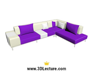 free 3d models sofa downloads -3dlecture