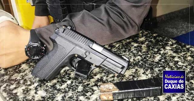 Polícia prende assaltante que agia no Saracuruna, em Duque de Caxias