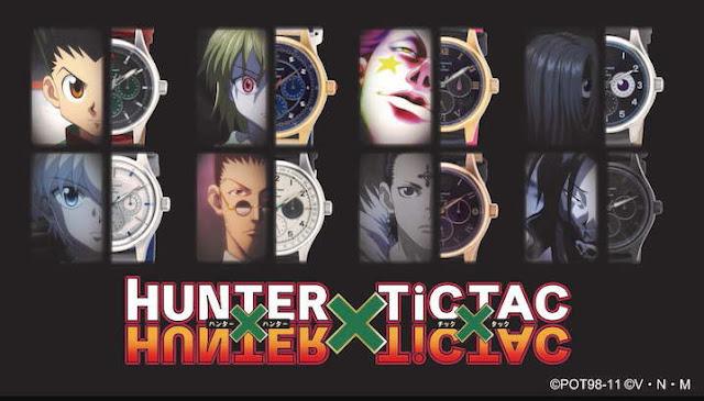 Kolaborasi Jam Tangan HUNTER×HUNTER