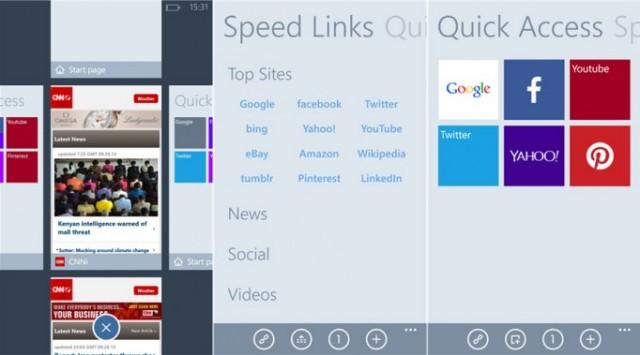 Maxthon browser berbasis IE untuk Windows Phone