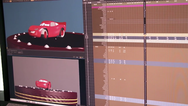 Lightning McQueen's Racing Academy new animation