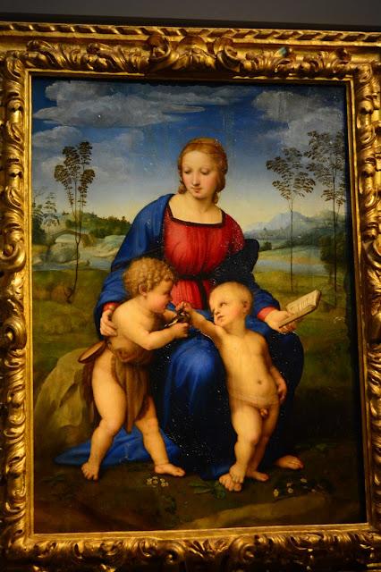 Raphaël - Vierge au chardonneret - 1506.