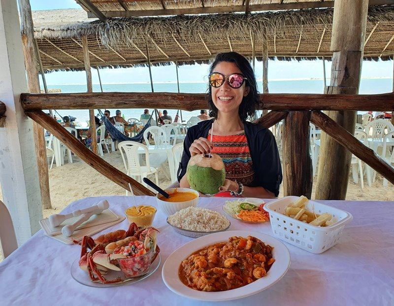 Restaurante Asa Branca, Praia do Saco - Sergipe