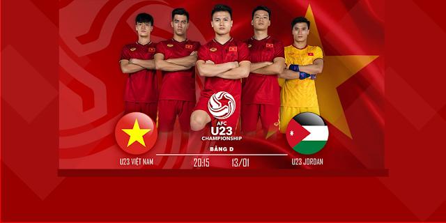 TRỰC TIẾP: JORDAN U23 VS VIỆT NAM U23