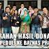 Hasil Donasi Malam Amal Diserahkan Baznas Provinsi