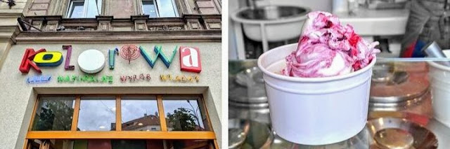 What to do in Poznan: Get ice cream at Kolorowa