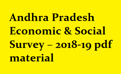 Andhra Pradesh Economic & Social Survey – 2018-19 pdf material latest || most important for Groups, and all Exams./2019/08/andhra-pradesh-economic-social-survey-material-download.html