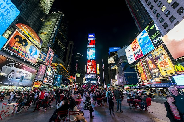 Time Square - The top tourism destion in US