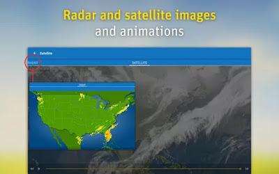 تطبيق WeatherPro لرصد احوال الطقس للأندرويد النسخة المدفوعة