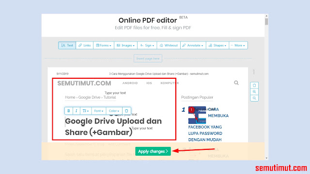 cara edit file pdf di laptop