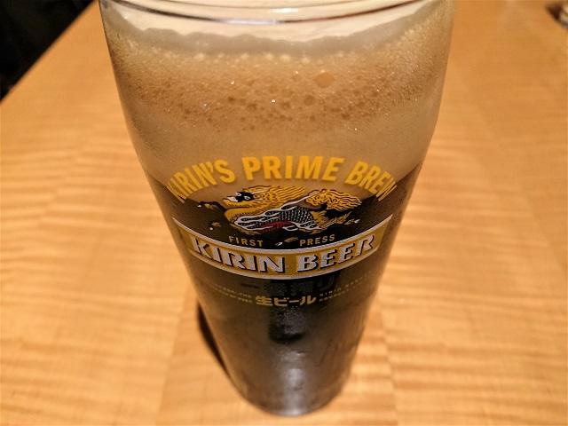 レストラン&カフェ Manna 新宿中村屋 黒ビール