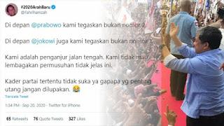 Fahri Mengaku Berada di Jalan Tengah, Tidak Memihak Siapapun 01 Maupun 02