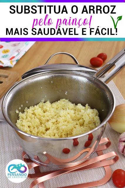 Substituto perfeito do arroz painço