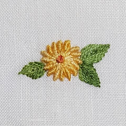 Mẫu thêu hoa nhí đẹp - Hinh 7