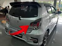 Harga dan Fisik : Reflektor Bagasi Kanan Toyota Agya/Daiha Ayla 2021   76803-BZ090