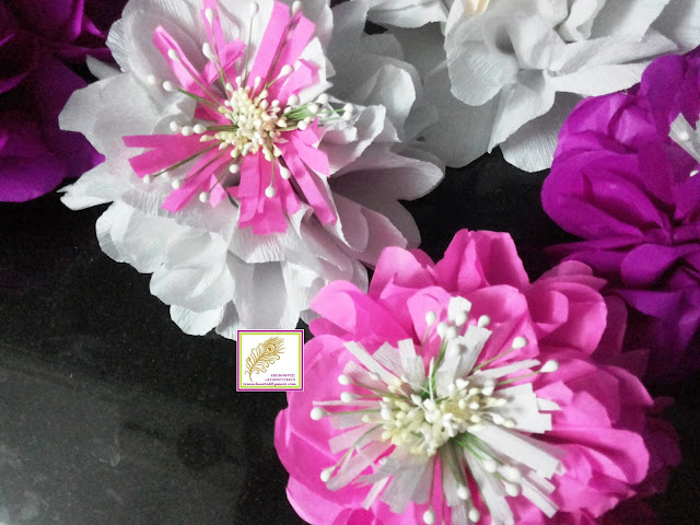 Vrenchanted color craft more february 2017 needed me to make few paper flowers i have a tutorial for making these flowers you can surely make more but variety but today i will show you how to mightylinksfo