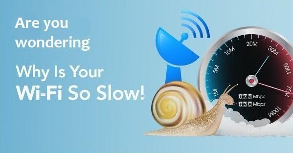 my WiFi slow